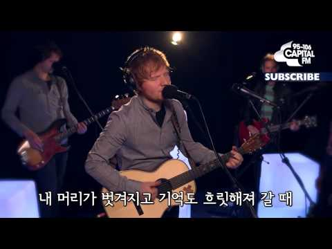 Ed Sheeran - Thinking Out Loud (Korean Sub.)