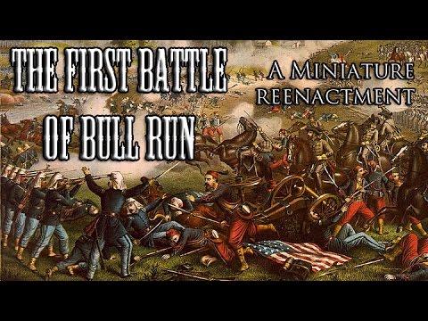 Miniature Reenactment - The First Battle of Bull Run/Manassas