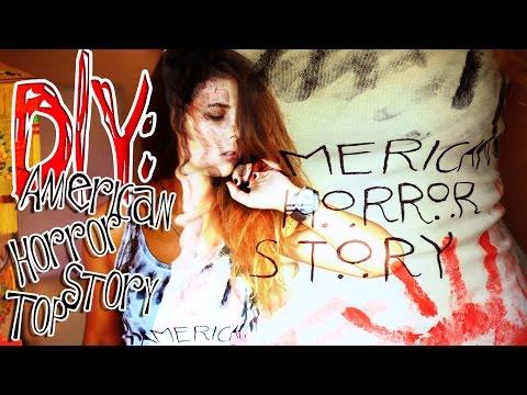 DIY: American Horror Story Top/Американская история ужасов| Fosssaaa