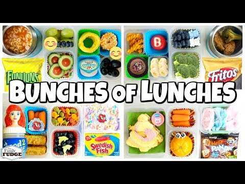 MYSTERY Family #2 Chooses Our Lunches 😱 School Lunch Ideas for KIDS