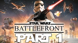 """Star Wars: Battlefront (2004) - Let's Play - Part 1 - """"The Battle Of Naboo""""   DanQ8000"""