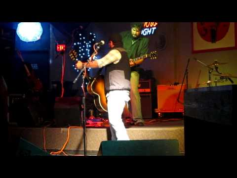 Bleu Edmondson Band Performing 50 Dollars And A Flask Of Crown At Guitars In Joplin Mo