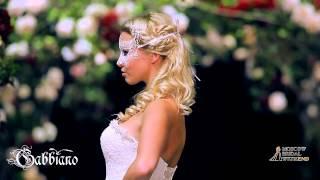 видео кружевное свадебное платье а силуэта