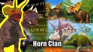 Horn Clan Dinosaur - Dinomaster
