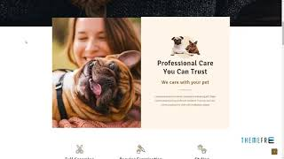 "Pabu -"" Animals and Pets WordPress Theme        Leland Solomon"