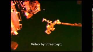 Bright UFO at ISS - 9th May 2014.