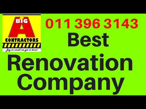 Office Renovation Johannesburg