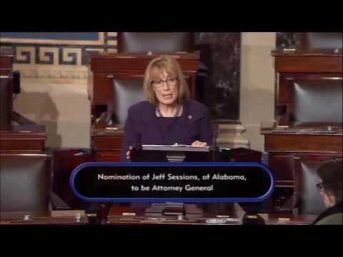 Senator Hassan Participates in Floor Debate in Opposition to Senator Sessions's Nomination