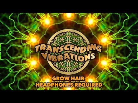 Grow Hair - Isochronic Tones - Binaural Beats - Specific Hz Targeting Pituitary - Subliminal