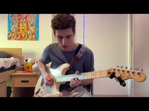 Only Wanna Be With You – Post Malone (Guitar solo cover)