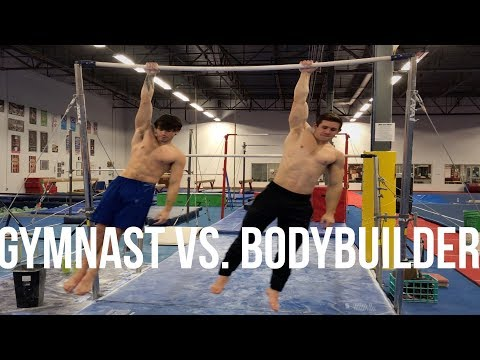 GYMNAST VS. BODYBUILDER!! STRENGTH WARS