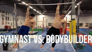 GYMNAST VS. BODYBUILDER!! STRENGTH WARS