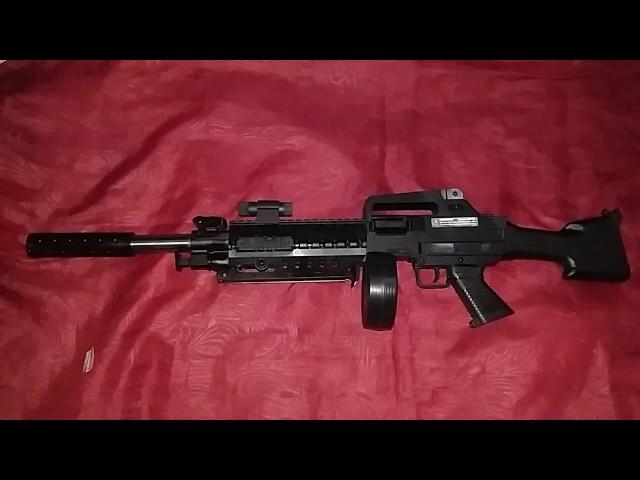 $6,5 Airsoftgun Spring Azzuri M4A1 AZ669B-5