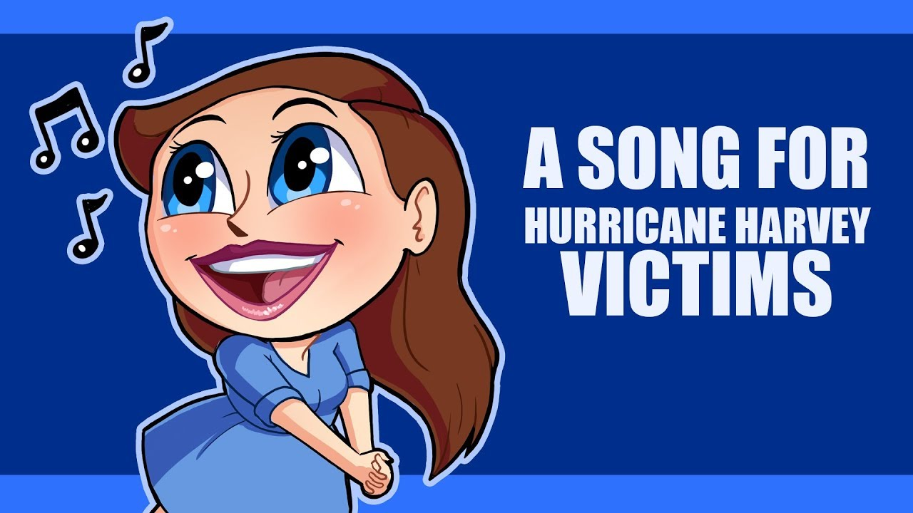 I Sang a Song for Hurricane Harvey Victims