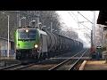Towarowa składanka kolejowa Goleniów Szczecin Zdunowo 16.02.2017 FPL, Orlen, PKP Cargo