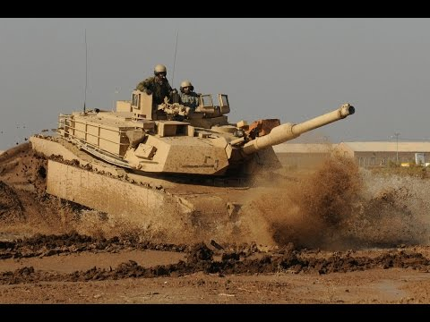 M1A1 Abrams stuck in mud HD