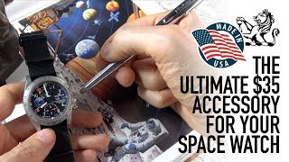 The Must Have Accessory For Every Omega Speedmaster, Fortis & Space Watch - Fisher #AG7 Pen Review