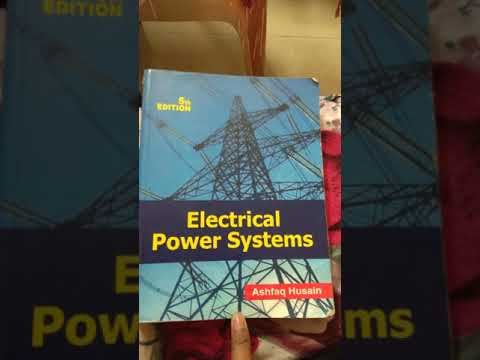 Electrical power system analysis books for electrical engineering students