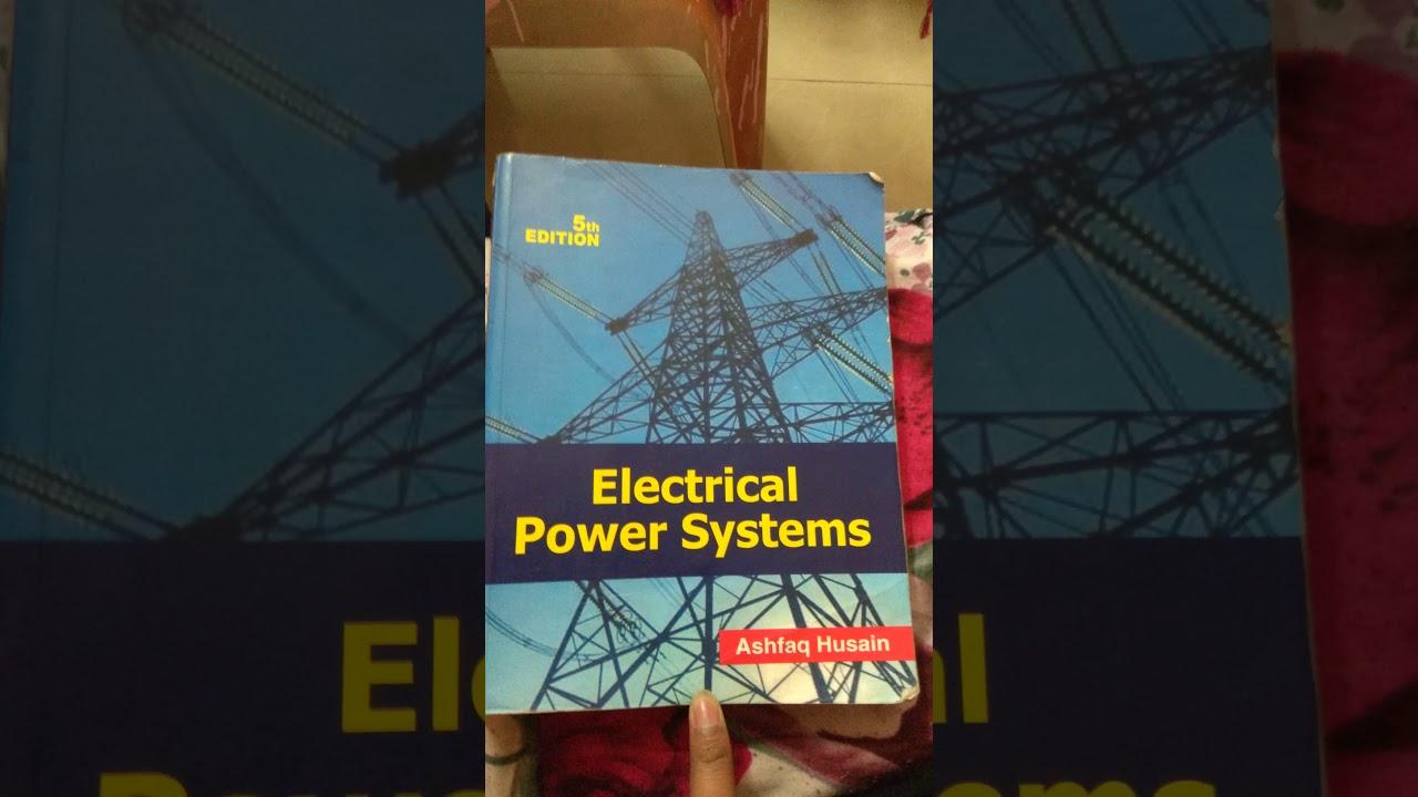 Electrical Power System By Ashfaq Hussain Pdf