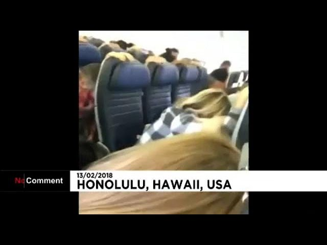 Passenger ordeal on US flight