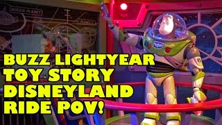 Buzz Lightyear Toy Story Shooting Dark Ride Hong Kong Disneyland Complete Ride POV