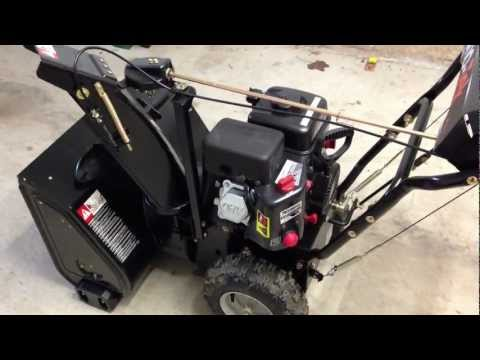 Snow Blower Carburetor Clean | FunnyDog.TV