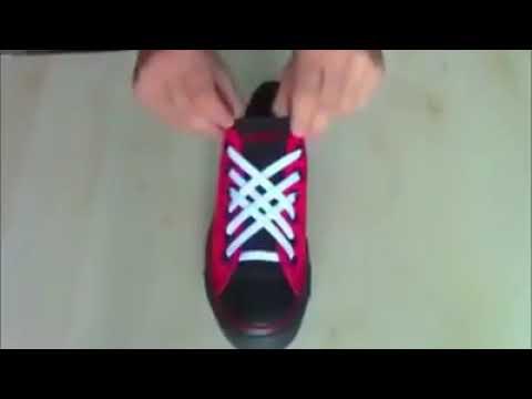 Cara keren mengikat tali sepatu (1) - YouTube 79a016b137