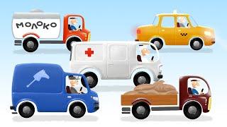 Песенка - Машинка - мультик для детей