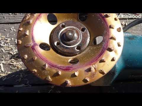 видео: Лыски в срубе болгаркой