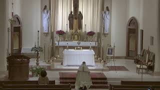 Adoration of the Blessed Sacrament and Divine Mercy Sunday