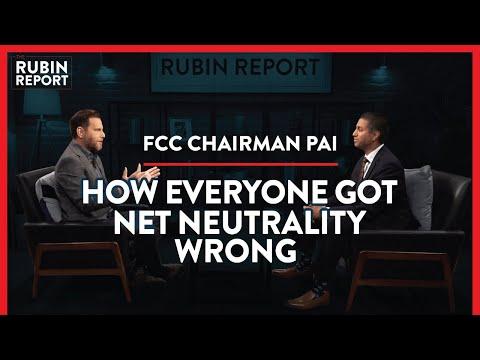 FCC Chair: Net Neutrality Fears Debunked, Yoda & A 5G Future | Ajit Pai | POLITICS | Rubin Report