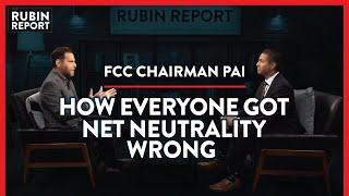 FCC Chair: Net Neutrality Fears Debunked, Yoda & A 5G Future   Ajit Pai   POLITICS   Rubin Report