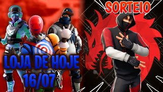 Today's Fortnite shop 16/07 NEW SKINS + it is TODAY RAFFLE IKONIK!