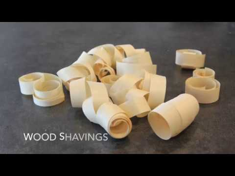 How to Make Wood Shaving Ornaments