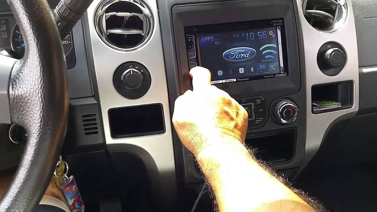 Ford F 150 2013 Stereo Idata Link Maestro Youtube