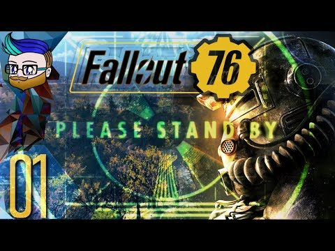 Stepping Out Of The Vault For The First Time | Fallout 76 #1