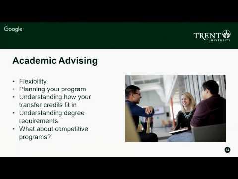 Transferring to Trent: The Trent Advantage Webinar