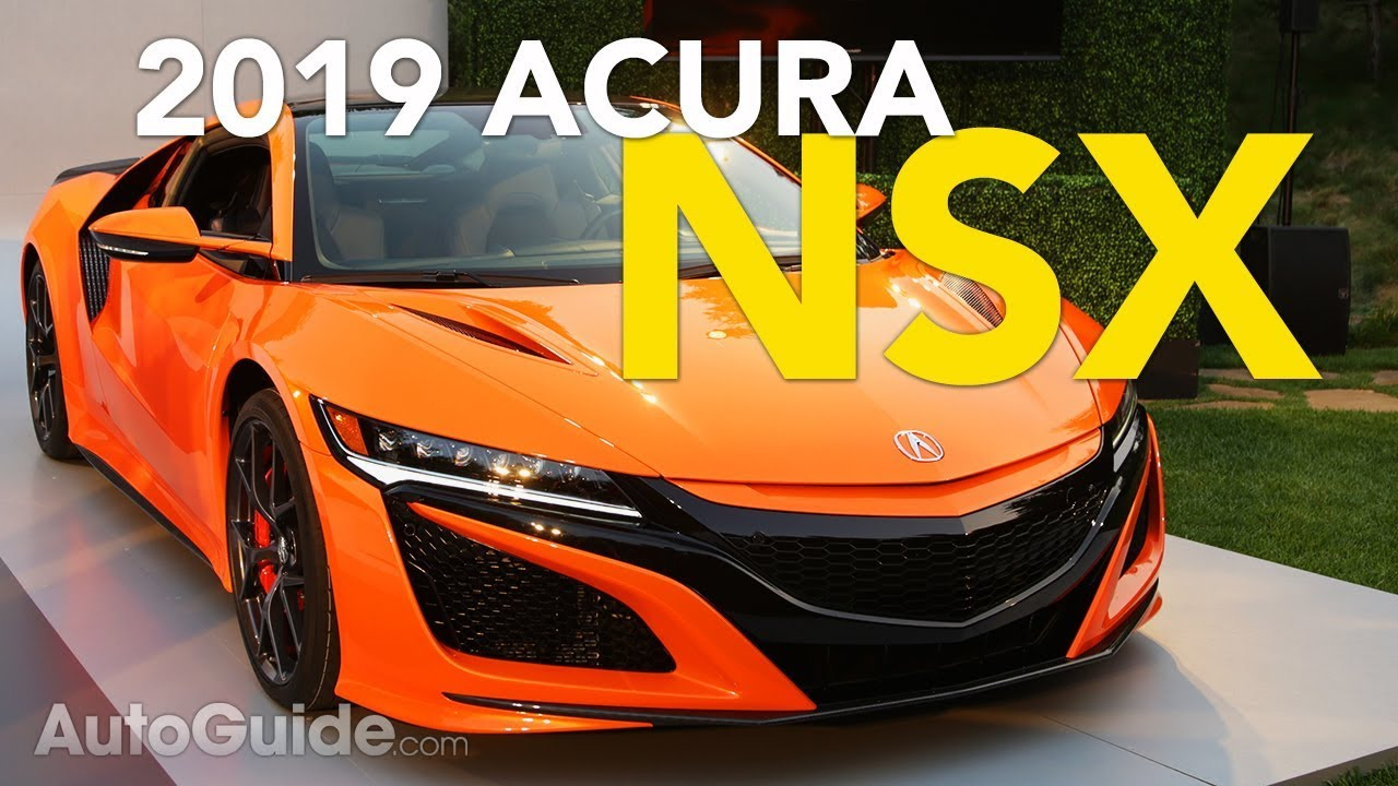 Image result for 2019 Acura NSX Revealed - 2018 Monterey Car Week| Pebble Beach