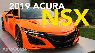 2019 Acura NSX Revealed - 2018 Monterey Car Week  Pebble Beach
