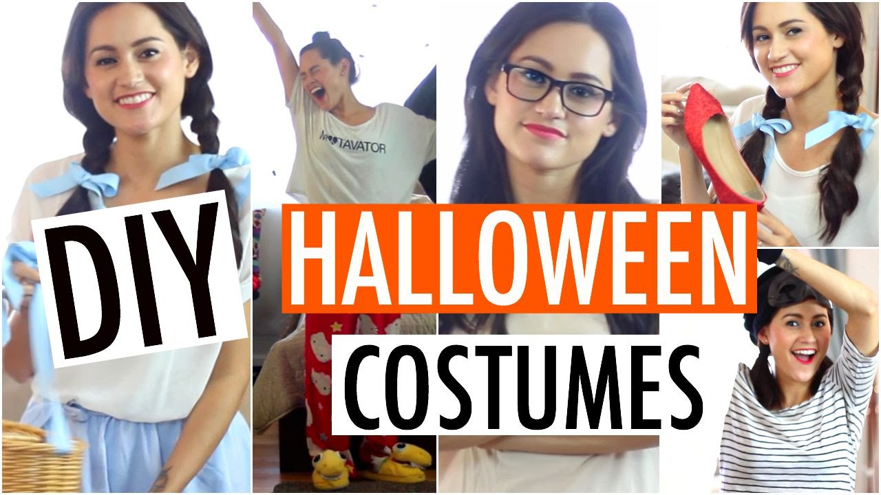 Easy diy halloween costume ideas fast affordable outfits 2015 easy diy halloween costume ideas fast affordable outfits 2015 youtube solutioingenieria Images