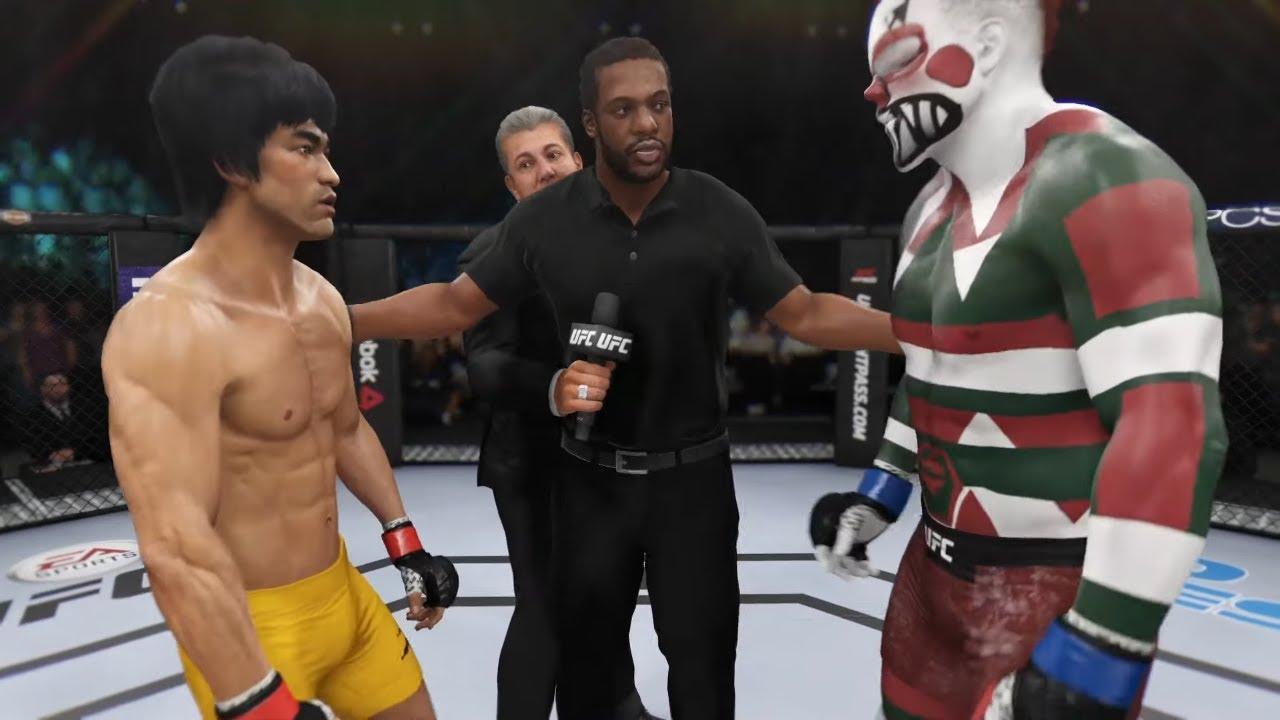 Bruce Lee vs. Killer Jack (EA sports UFC 3)