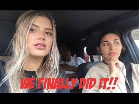 WE FINALLY DID IT!!!- Chantel Jeffries & Alissa Violet