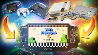 Cómo poner Emuladores a la PS VITA! (3.68) NES, GAMEBOY, PSX, N64, ETC