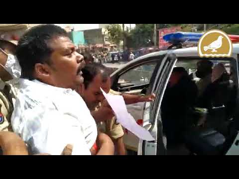 Mild Tension at Borabanda over Shivaji statue