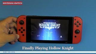 Finally Playing Hollow Knight on Nintendo Switch