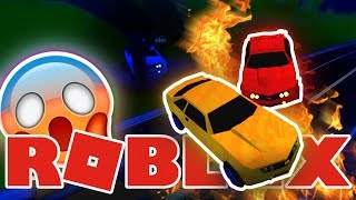 Roblox Jailbreak - CRAZY CAR CHASE IN ROBLOX!? - Episode 2