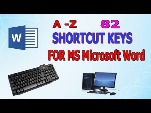 82 All  Amazing Shortcuts For Microsoft Word thumbnail
