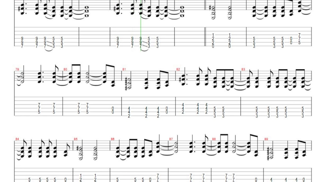 One Guitar Tab : creed one last breath guitar tab youtube ~ Hamham.info Haus und Dekorationen