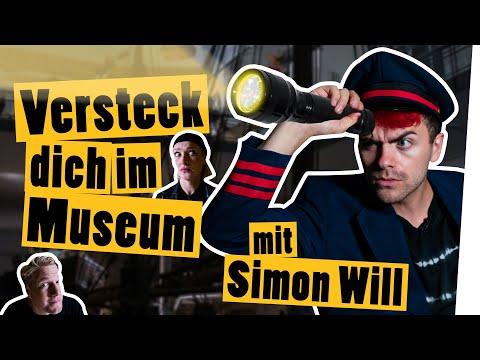 Verstecken nachts im Museum mit SIMON WILL    Das schaffst du nie!
