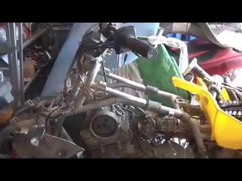 Checking setting cam timing on a 2000 Kawasaki Lakota KEF300 – Lakota Engine Diagram